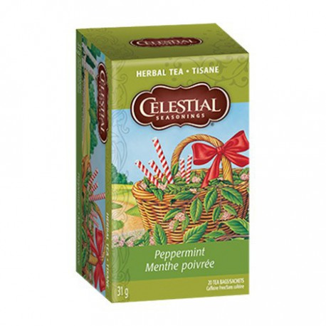 CELESTIAL SEASONINGS TEA PEPPERMINT 20 BG