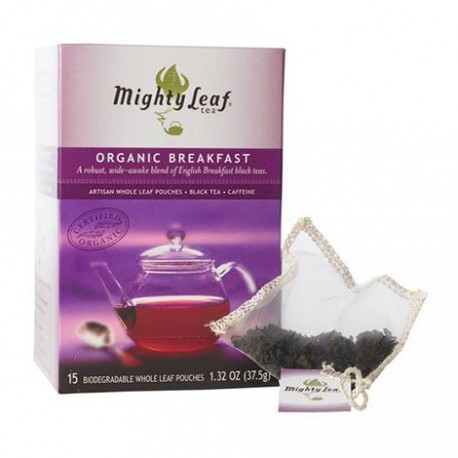 MIGHTY LEAF ORGANIC BREAKFAST TEA 15 BG