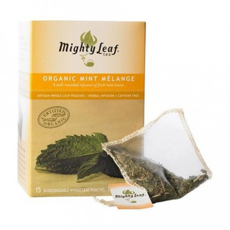 MIGHTY LEAF TEA ORGANIC MINT MELANGE 15 BG
