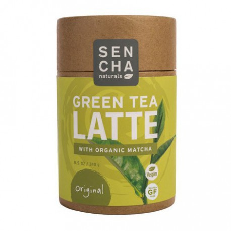 SENCHA NATURALS GREEN TEA LATTE WITH ORGANIC MATCHA ORIGINAL 240 G