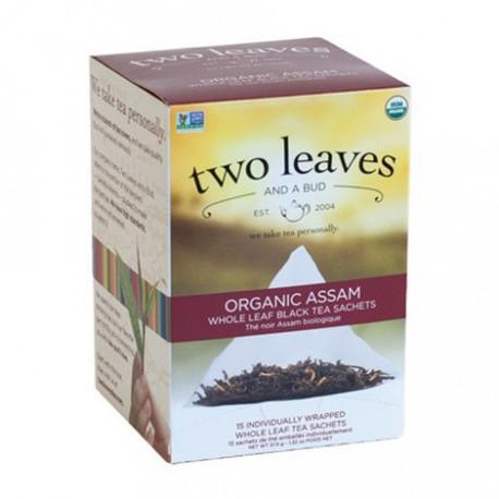 TWO LEAVES AND A BUD ORGANIC TEA ASSAM BREAKFAST 15 BG