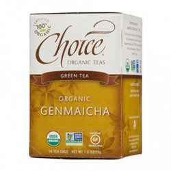 CHOICE ORGANIC TEAS GENMAICHA 16 BG
