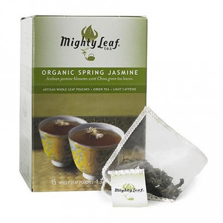 MIGHTY LEAF TEA ORGANIC SPRING JASMINE 15 BG