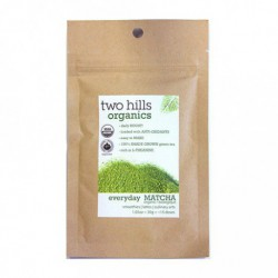 TWO HILLS TEA ORGANIC EVERYDAY MATCHA 30 G