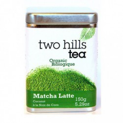 TWO HILLS TEA ORGANIC MATCHA COCONUT LATTE MIX 150 G