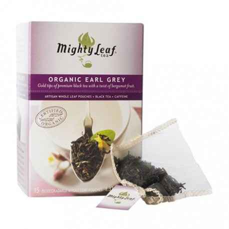 MIGHTY LEAF TEA ORGANIC EARL GREY 15 BG