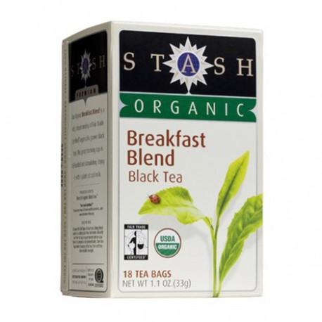 STASH ORGANIC BREAKFAST BLEND BLACK TEA 18 BG