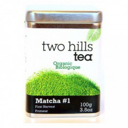 TWO HILLS TEA ORGANIC MATCHA FIRST HARVEST GREEN TEA POWDER 100 G