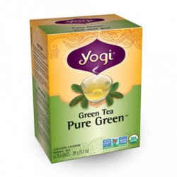 YOGI ORGANIC PURE GREEN TEA 16 BG