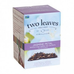 TWO LEAVES AND A BUD TEA JASMINE PETAL GREEN 15 BG