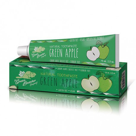 GREEN BEAVER TOOTHPASTE GREEN APPLE 75 ML