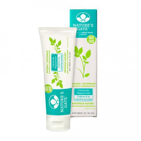 NATURE'S GATE NATURAL TOOTHPASTE CREME DE PEPPERMINT 119 ML