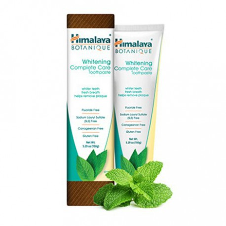 HIMALAYA BOTANIQUE ORGANIC TOOTHPASTE WHITENING COMPLETE CARE SIMPLY MINT 150 G