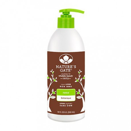 NATURE'S GATE MOISTURIZING HERBAL LOTION 532 ML