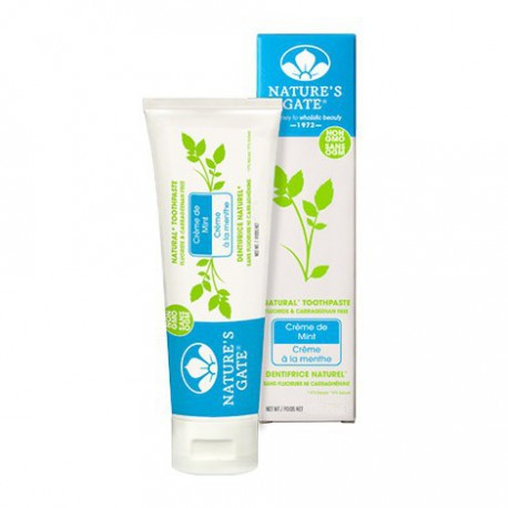 NATURE'S GATE NATURAL TOOTHPASTE CREME DE MINT 74 ML