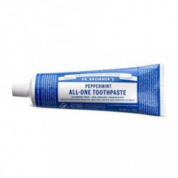 DR. BRONNER'S ALL-ONE TOOTHPASTE PEPPERMINT 140 G