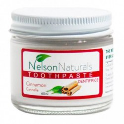 NELSON NATURALS REMINERALIZING TOOTHPASTE CINNAMON 60 ML