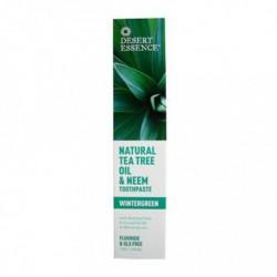 DESERT ESSENCE NATURAL TEA TREE OIL & NEEM TOOTHPASTE 130 ML