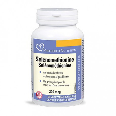 PREFERRED NUTRITION SELENOMETHIONINE 60 CP
