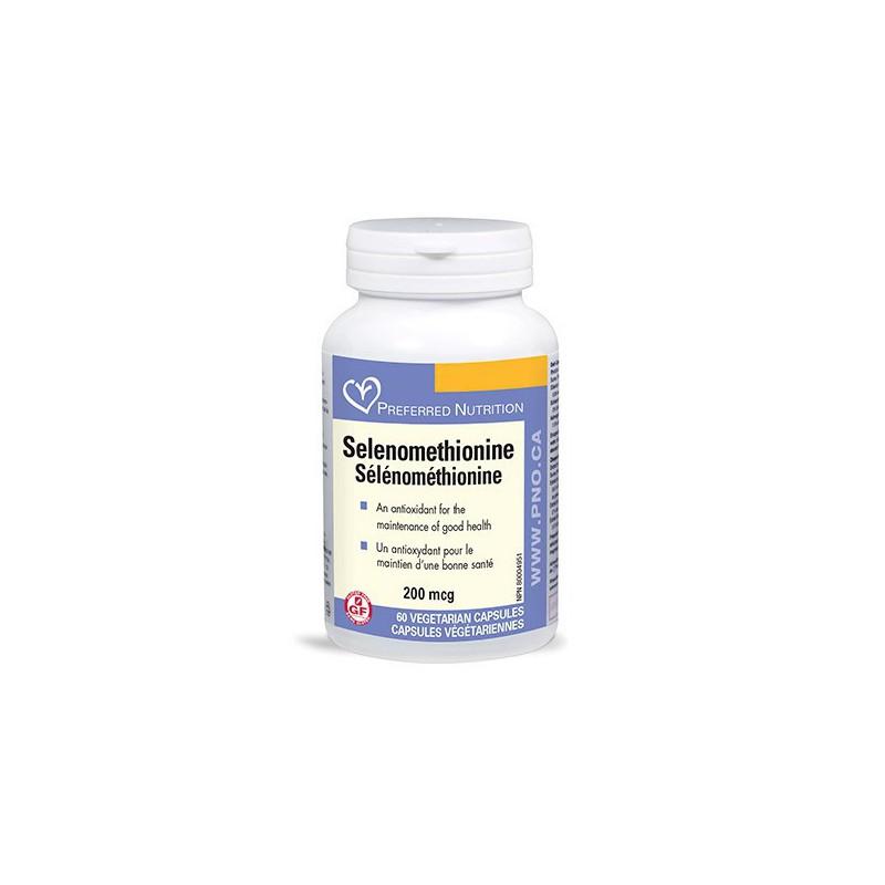 PREFERRED NUTRITION SELENOMETHIONINE 60 CP