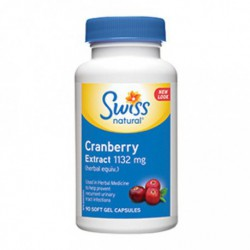 SWISS NATURAL CRANBERRY EXTRACT 1132MG 90 SG