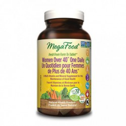 MEGAFOOD WOMEN OVER 40 ONE DAILY MULTIVITAMIN 72 TB