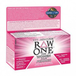 GARDEN OF LIFE VITAMIN CODE RAW ONE FOR WOMEN MULTIVITAMIN 75 VC