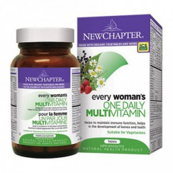 NEW CHAPTER ORGANIC EVERY WOMAN'S ONE DAILY MULTIVITAMIN 48 TB