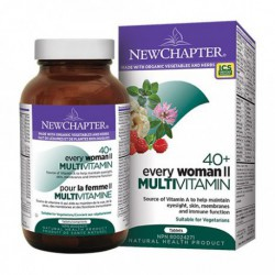 NEW CHAPTER ORGANIC EVERY WOMAN'S II 40+ MULTIVITAMIN 96 TB