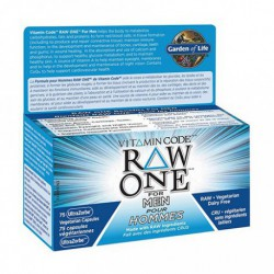 GARDEN OF LIFE VITAMIN CODE RAW ONE FOR MEN MULTIVITAMIN 75 VC