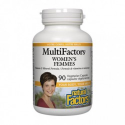 NATURAL FACTORS MULTIFACTORS WOMEN'S 90 VC