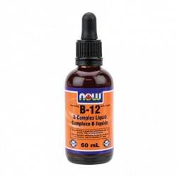 NOW VITAMIN B12 COMPLEX LIQUID 60 ML