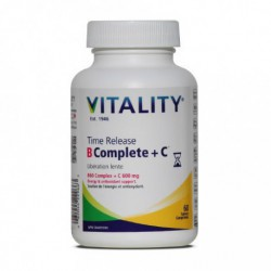VITALITY TIME RELEASE B COMPLETE + C 60 TB