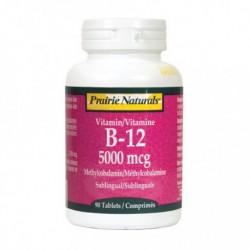 PRAIRIE NATURALS VITAMIN B12 5000MCG 90 TB