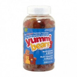 HERO NUTRITIONALS YUMMI BEARS COMPLETE MULTIVITAMIN 200 CT