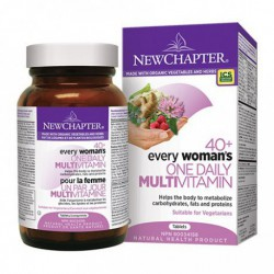 NEW CHAPTER ORGANIC EVERY WOMAN'S ONE DAILY 40+ MULTIVITAMIN 96 TB