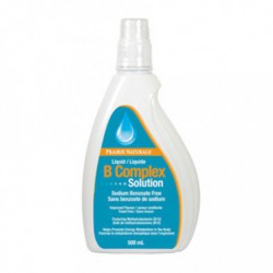 PRAIRIE NATURALS LIQUID B COMPLEX SOLUTION 500 ML