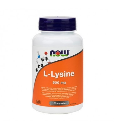 NOW L-LYSINE 500MG 100 CP