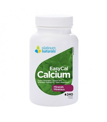 PLATINUM NATURALS EASYCAL CALCIUM EXTRA STRENGTH 240 SG