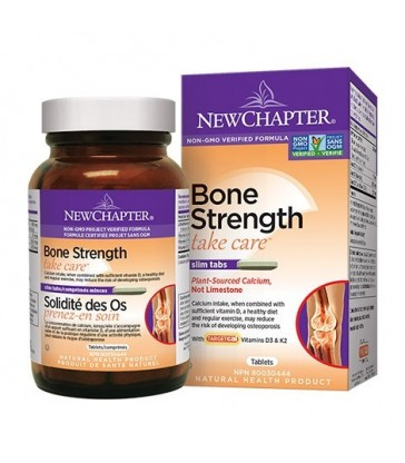 NEW CHAPTER BONE STRENGTH TAKE CARE BONUS SIZE 144 TB