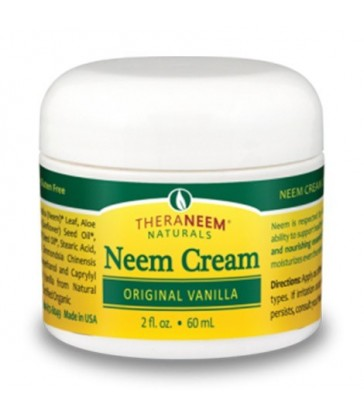 THERANEEM NATURALS NEEM CREAM ORIGINAL VANILLA 60 ML