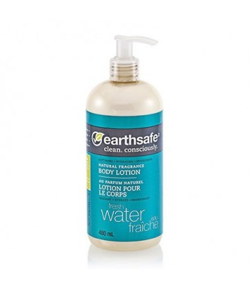 EARTHSAFE BODY LOTION FRESH WATER 480 ML