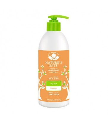 NATURE'S GATE MOISTURIZING PAPAYA LOTION 532 ML