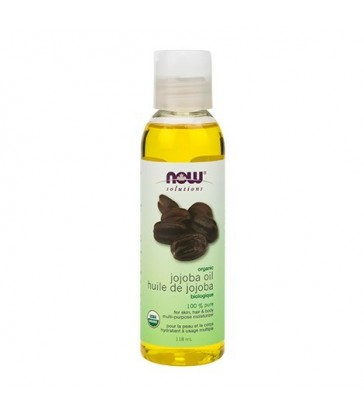 NOW ORGANIC JOJOBA OIL 118 ML