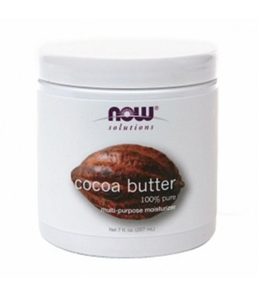 NOW PURE COCOA BUTTER 207 ML