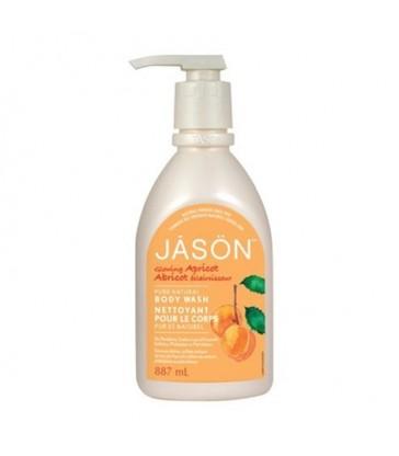 JASON BODY WASH GLOWING APRICOT 887 ML