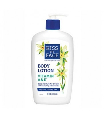 KISS MY FACE 2 IN 1 VITAMIN A & E MOISTURIZING LOTION 473 ML