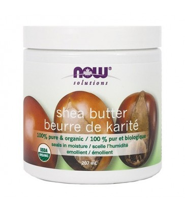 NOW PURE & ORGANIC SHEA BUTTER 207 ML