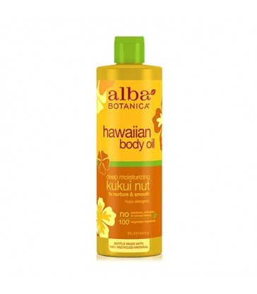 ALBA BOTANICA KUKUI NUT HAWAIIAN BODY OIL 251 ML