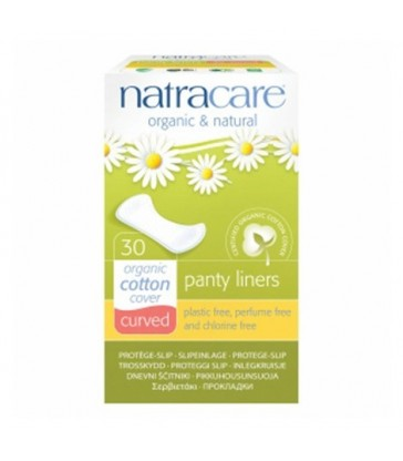NATRACARE ORGANIC CURVED PANTY LINER 30 PK